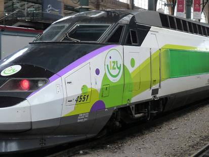 Promo IZY : billets de train à 29€ maximum pour voyager jusqu'à début avril