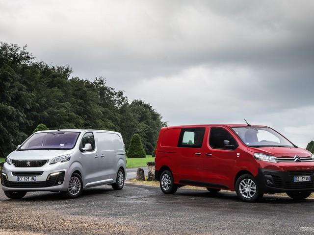 Citroën Jumpy et Peugeot Expert. Une version électrique pour 2020