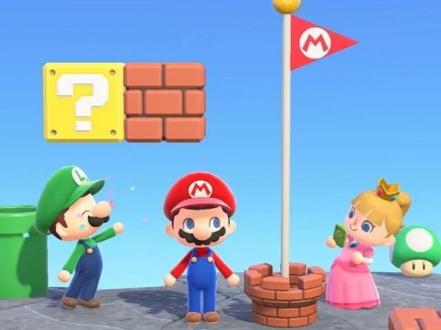 Animal Crossing New Horizons : Les objets Super Mario et évènements du mois de mars