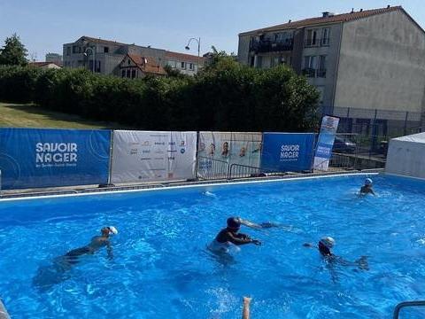 Bagnolet: Des cours de natation gratuits pour apprendre à « vaincre sa peur »