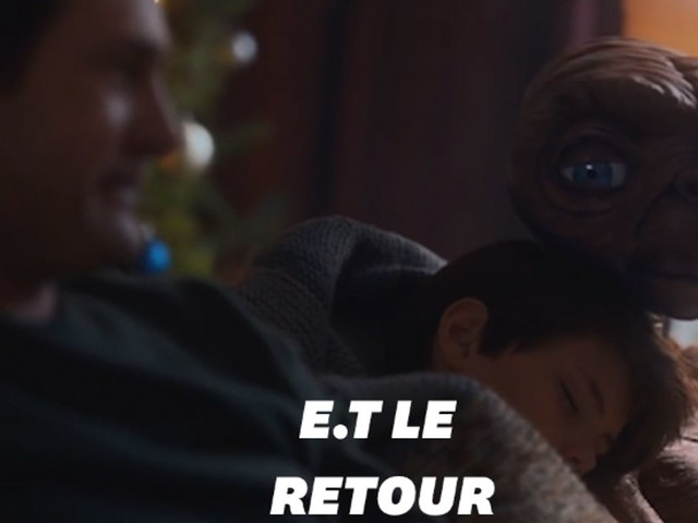E.T et Elliot se retrouvent 37 ans plus tard dans une pub