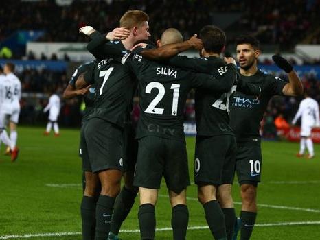 Angleterre: Manchester City remporte une 15e victoire consécutive, nouveau record en Championnat