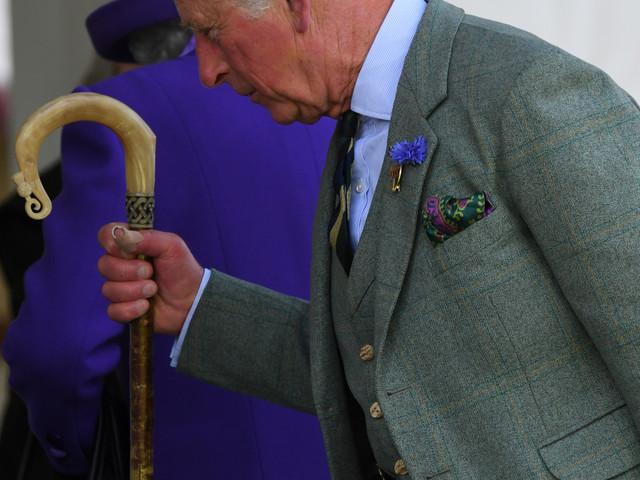 Quand les orties du prince Charles se transforment en haute couture