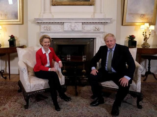 Brexit: Boris Johnson et von der Leyen préparent la suite des négociations