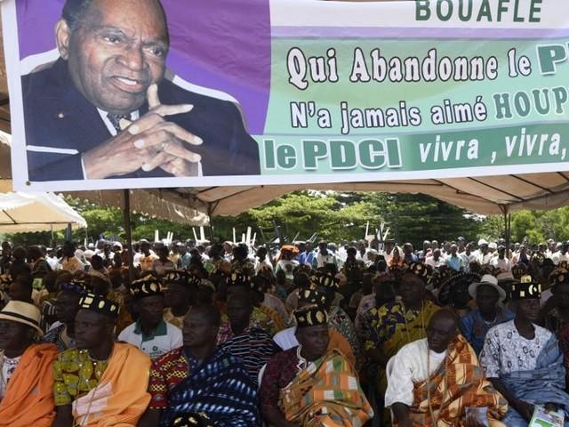 Côte d'Ivoire: la démonstration de force du PDCI