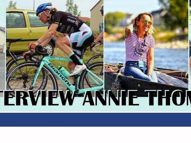 """Interview d'Annie Thomas Bonjour Annie peux tu te présenter brièvement pour les lecteurs d'infosport-Loiret. """" Bonjour Infosport-Loiret, je suis Annie Thomas, j'ai 47 ans, je suis comptable dans une PME qui fait du traitement de l'eau, je vis en concubinage avec Gregory et j'habite Orléans. Je pratique le cyclisme de compétition et suis licenciée...-(Pascal GIRY-Infosport-Loiret - Annie THOMAS) -"""