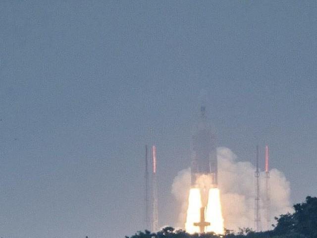 Ariane 5 décolle de Guyane avec quatre satellites Galileo