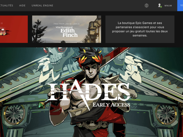 Epic Games tient à ce que sa plateforme fasse baisser le prix des jeux