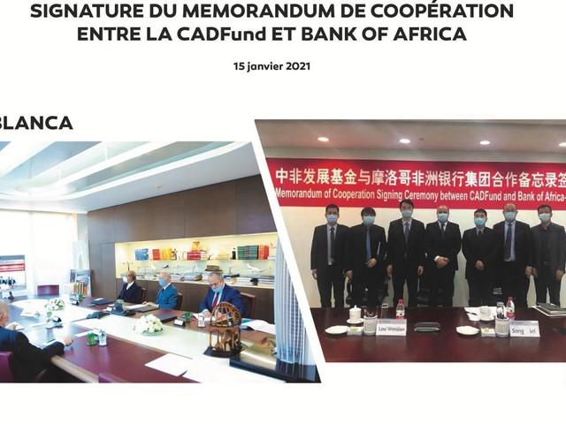 Partenariat: Bank Of Africa multiplie ses accords en Chine