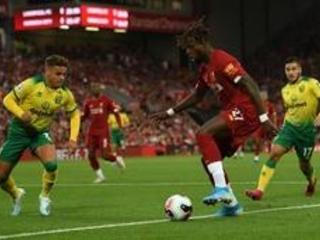 Les Belges à l'étranger - Liverpool, avec un but d'Origi, a écrasé Norwich, première réussie pour Thorgan Hazard