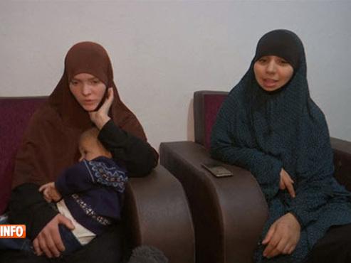 Parties en Syrie avec leurs enfants, les deux Belges Tatiana Wielandt et Bouchra Abouallal se trouveraient désormais en Turquie