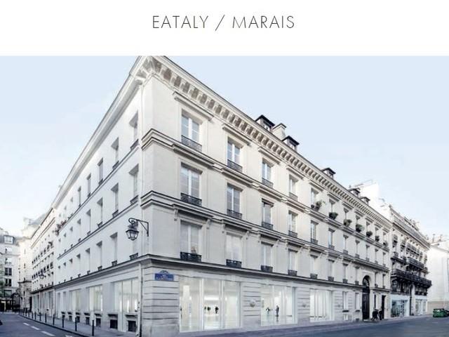 Eataly ouvrira le 12 avril dans le Marais, à Paris