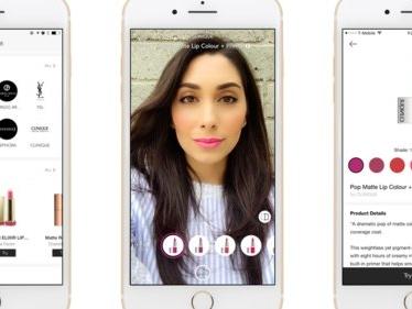 Cette application vous permet d'essayer tous les rouges à lèvres du monde