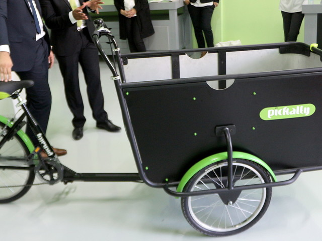 Pickalty, le nouveau moyen de transport écolo