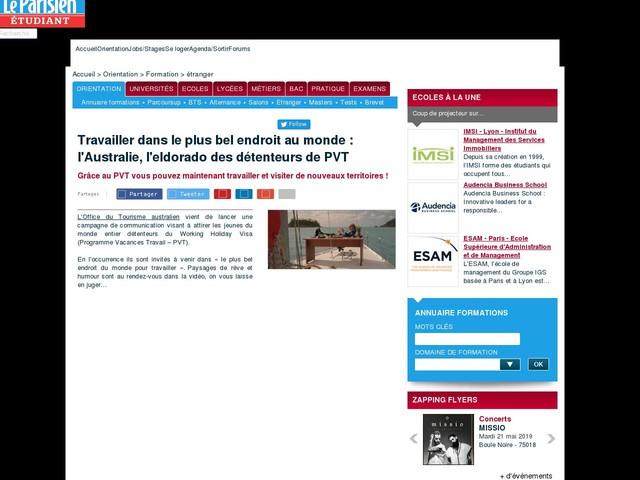 Travailler dans le plus bel endroit au monde : l'Australie, l'eldorado des détenteurs de PVT