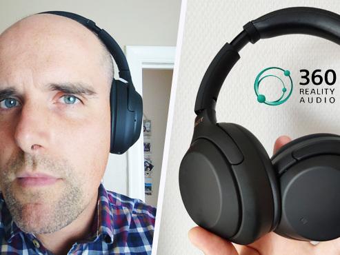 """Les tests de Mathieu: le (nouveau) meilleur casque à réduction active de bruit diffuse du son """"360"""", à quoi ça sert ?"""