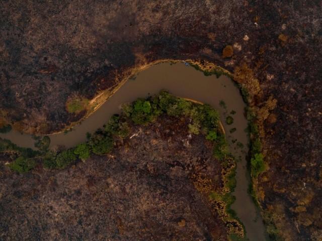 Brésil: un écrin d'écotourisme réduit en cendres au Pantanal
