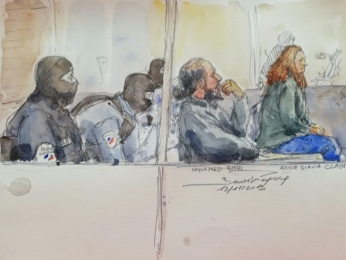 Jihadisme: début du procès d'Anne Diana Clain, soeur aînée des frères Clain