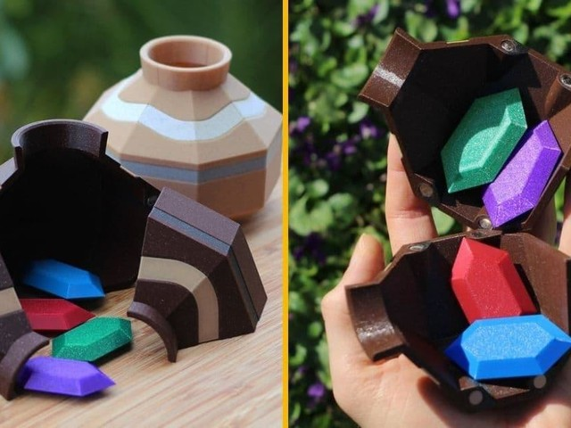 [TOPITRUC] Une réplique du pot cassable avec des rubis que l'on trouve dans Zelda