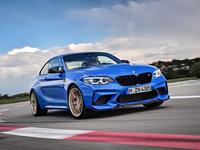 Les photos de la BMW M2 CS, 450 chevaux et toujours en propulsion