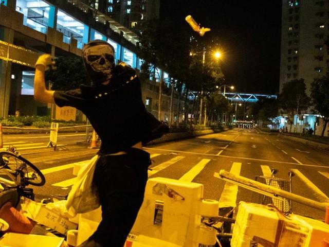 Situation de nouveau très tendue ce week-end dans le territoire de Hong Kong