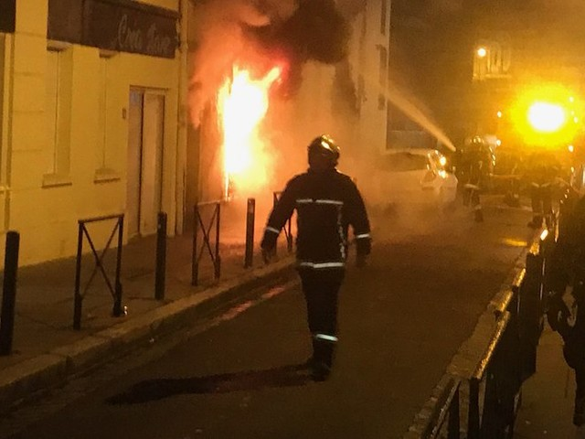 Un appartement prend feu dans le centre de Toulouse : deux blessés