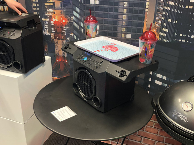 GTK-PG10: Sony prépare une enceinte nomade/porte-gobelets