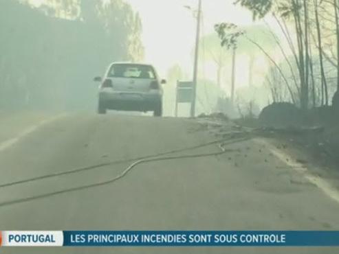 Les incendies de forêts meurtriers maîtrisés au Portugal et en Espagne: le bilan passe à 41 morts