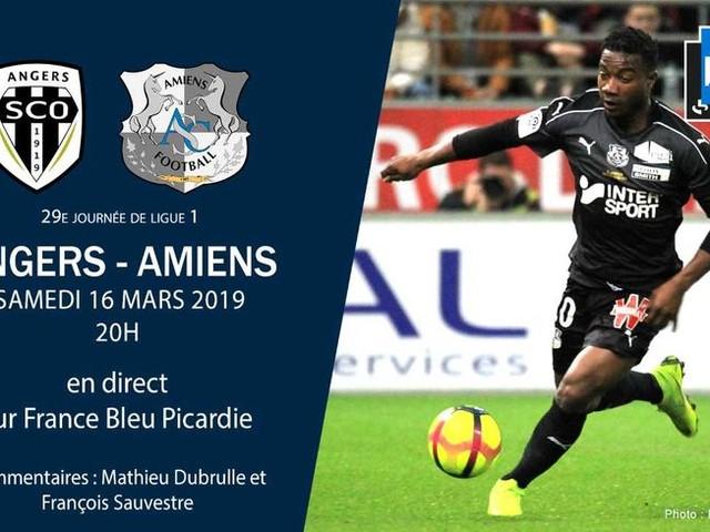 Ligue 1 - direct : suivez le match de la vingt-neuvième journée entre Angers et Amiens