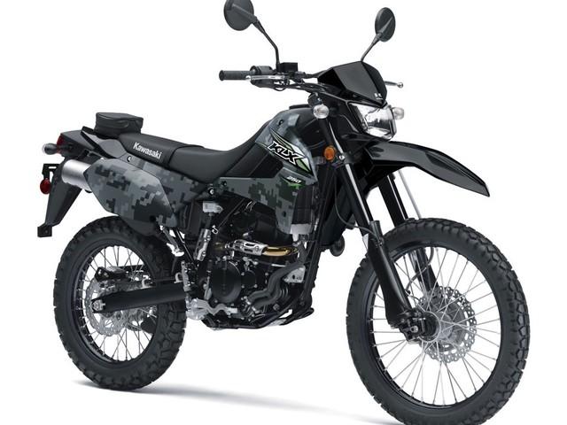 Kawasaki relance la KLX250 aux USA