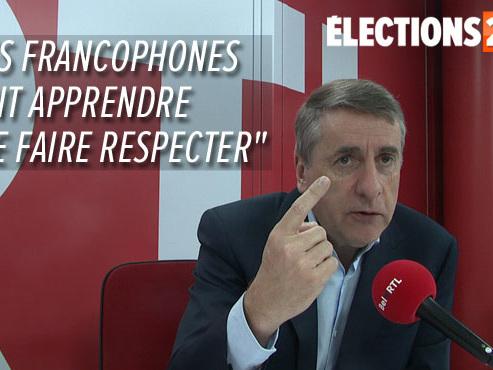 """Olivier Maingain à propos de la N-VA: """"C'est l'extrême droite nationaliste"""""""