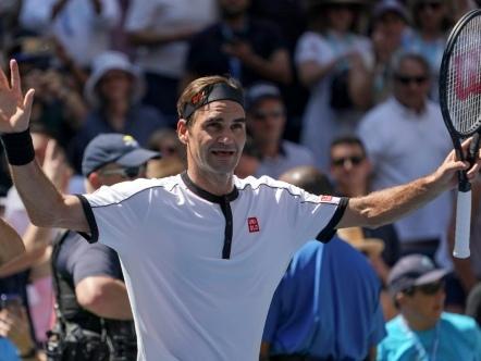 US Open: Federer et Serena sereins, Djokovic et Medvedev sur les nerfs