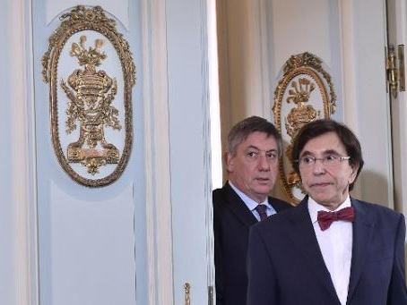 Jan Jambon et Elio Di Rupo parlent de tout sauf... d'un futur gouvernement fédéral