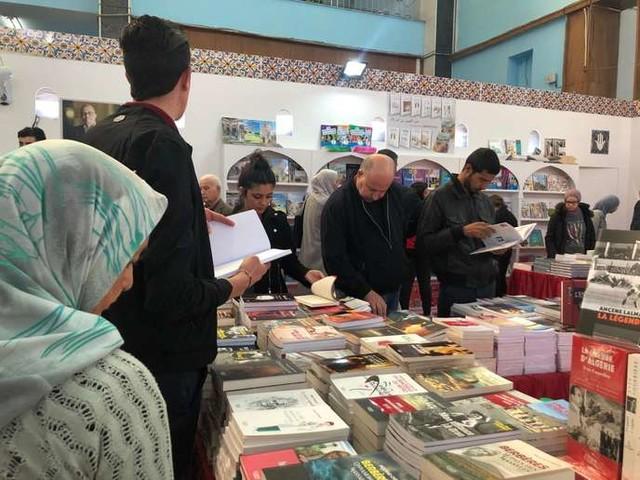 Au Salon international du livre d'Alger, une rentrée littéraire sous le signe du Hirak