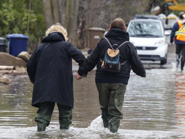 Inondations: pas de bon augure pour le week-end