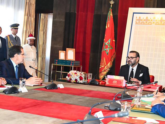 Le roi Mohammed VI appelle le gouvernement à finaliser le programme prioritaire national relatif à l'eau