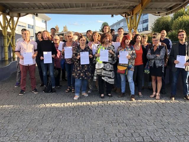 Cité scolaire d'Orthez : une nouvelle action annoncée pour réclamer plus de moyens