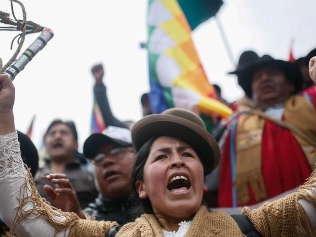 Ce que vit la Bolivie n'est pas une contestation populaire mais un coup d'État