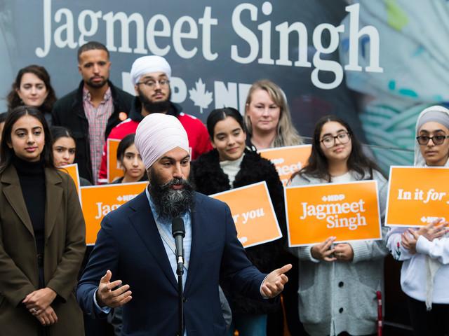 Singh prêt à s'unir aux libéraux contre Scheer