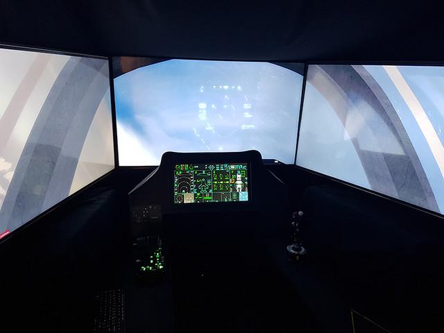 Le jour où j'ai voyagé en avion de chasse F-35