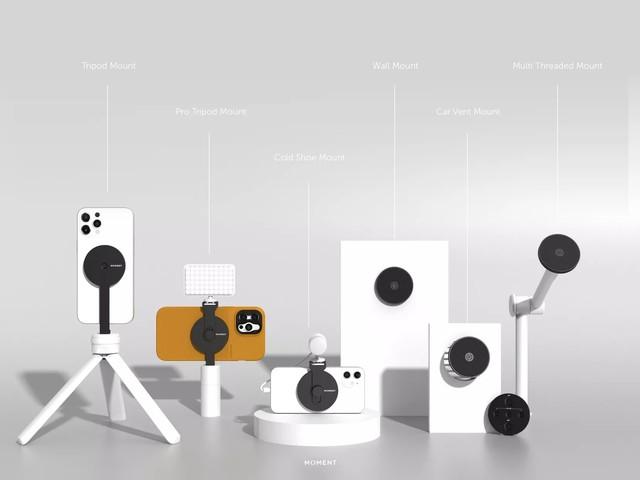 Les accessoires MagSafe de Moment transforment l'iPhone 12