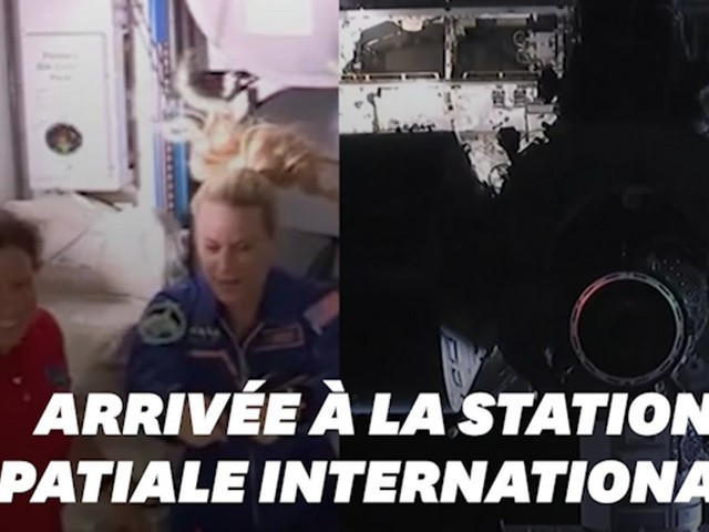 La capsule Dragon de SpaceX a réussi son arrimage à l'ISS