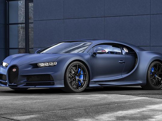 Une Bugatti Chiron Sport, hommage à la France, limitée à 20 exemplaires