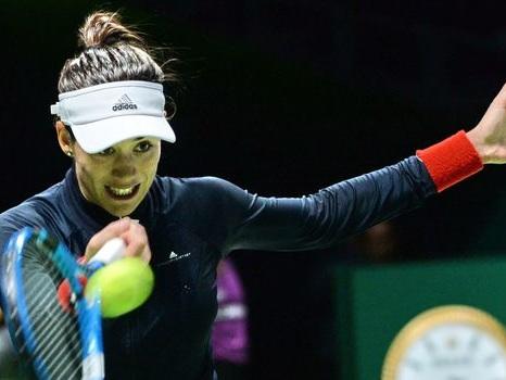 Masters dames: Muguruza domine la novice Ostapenko