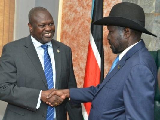 Soudan du Sud: Kiir et Machar prêts à former un gouvernement d'union en novembre