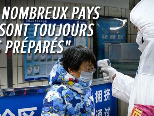 Le bilan du coronavirus s'alourdit en Chine: 170 décès et 7.700 contaminés, les Belges pourront revenir samedi