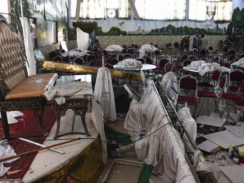 Afghanistan: Un attentat lors d'un mariage à Kaboul fait 63 morts