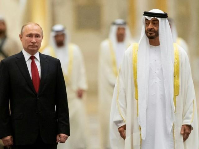 Poutine à Abou Dhabi en quête de plus d'un milliard de dollars d'investissements