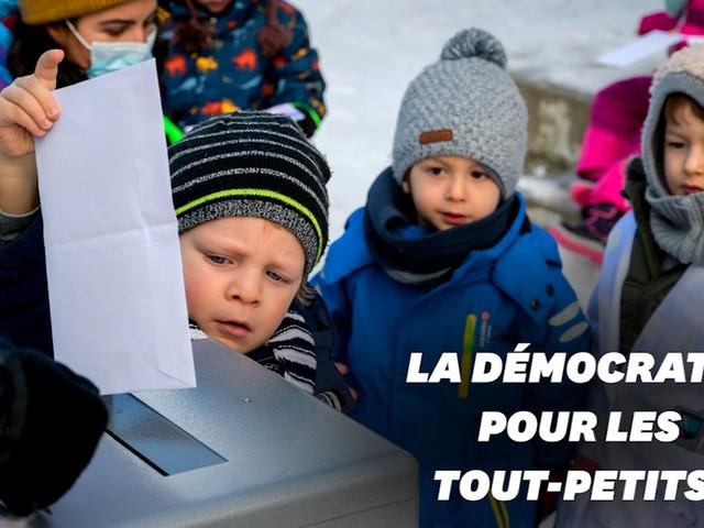 En Suisse, la démocratie directe enseignée dès la maternelle