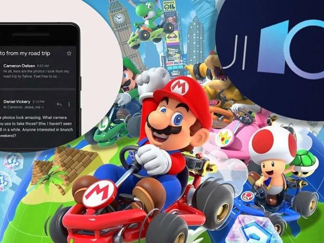 Mario Kart Tour enfin disponible, Google lance le mode sombre du Play Store, Huawei déploie EMUI 10, le récap